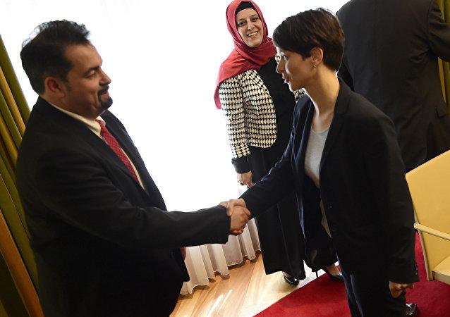 Almanya Müslümanlar Merkez Konseyi - AfD görüşmesi