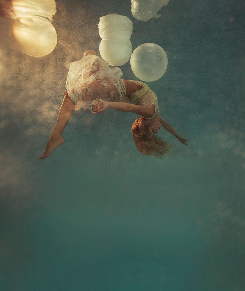 Su altında sanat