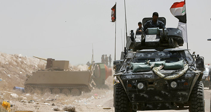 Irak federal polisi / Felluce