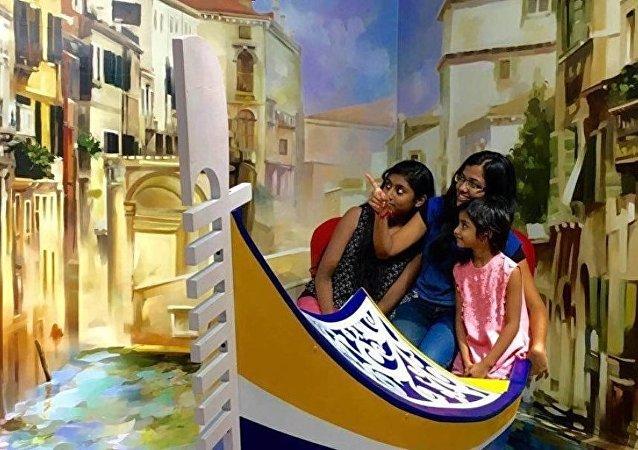 Hindistan'da 3D müze