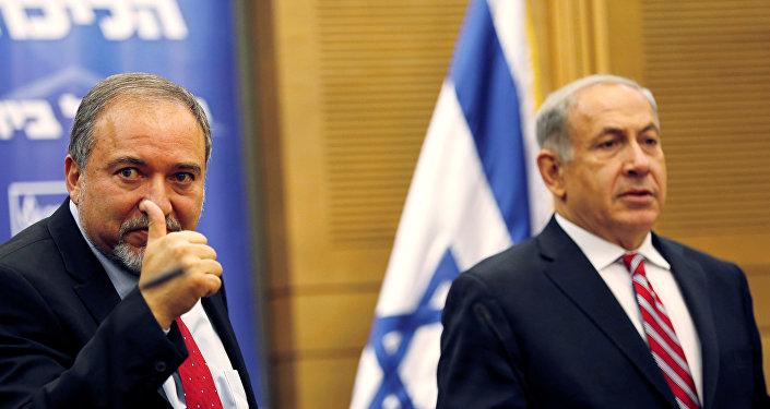 Avigdor Lieberman - Benyamin Netanyahu