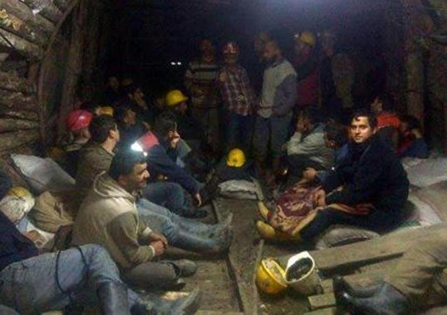 Zonguldak açlık grevindeki maden işçileri