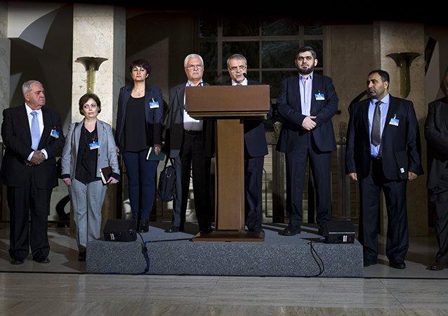 Yüksek Müzakere Konseyi (HNC): Esad el Zubi, George Sabra, Muhammed Alluş
