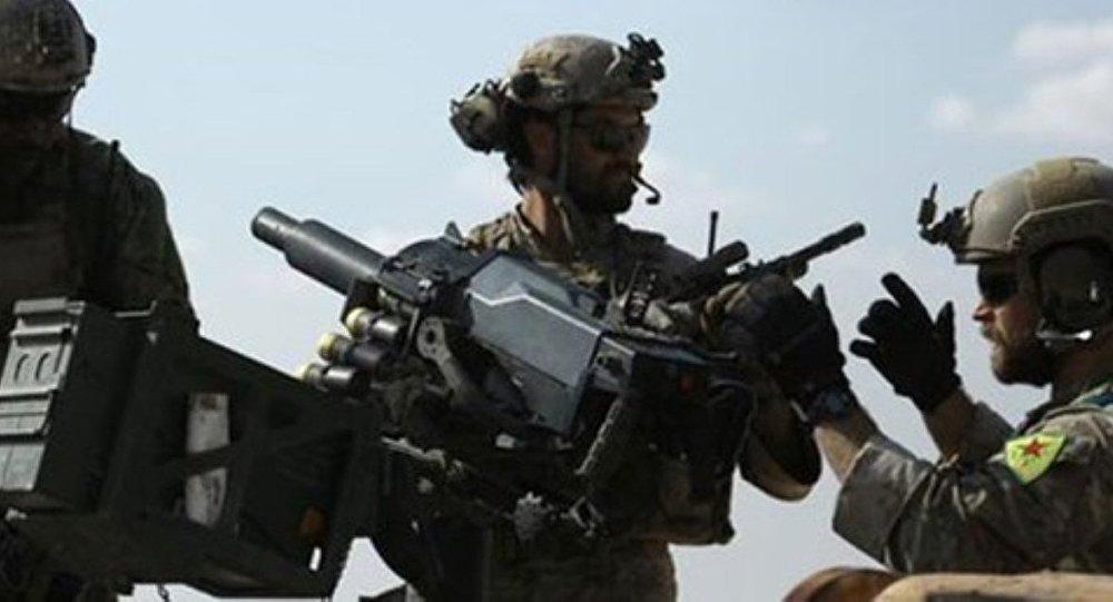 YPG armalı üniforma