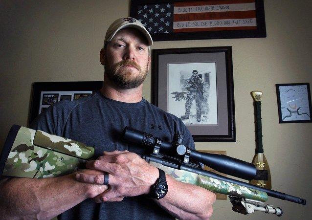 'Amerikan Sniper' Chris Kyle.