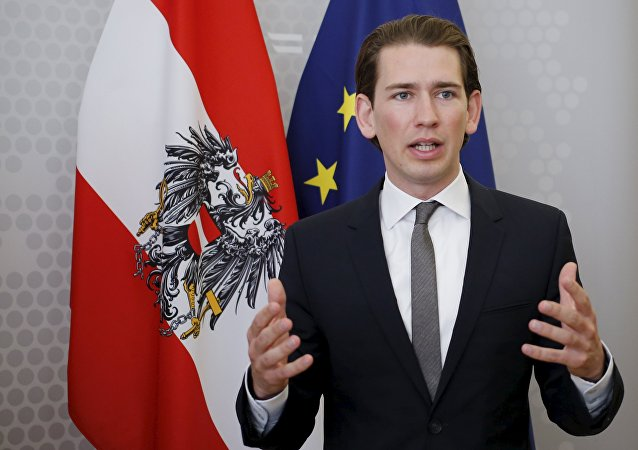 Avusturya Dışişleri Bakanı Sebastian Kurz