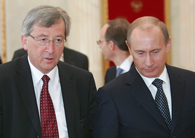 Vladimir Putin - Jean-Claude Juncker