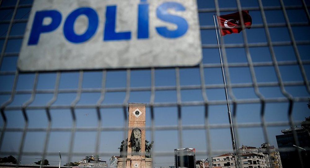 İstanbul - Taksim - Polis