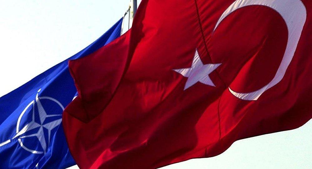 Türkiye - NATO - Bayrak
