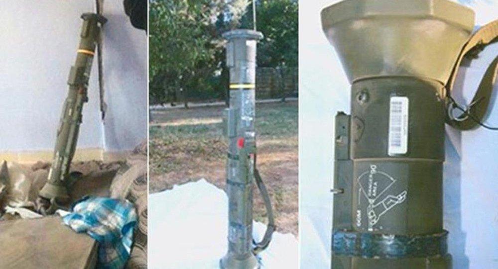 Mardin'in Nusaybin ilçesinde PKK'ya yönelik operasyonda ABD-İsveç ortak yapımı bir antitank roketi ele geçirildi.