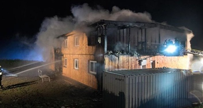 Avusturya sığınmacı evi kundaklama