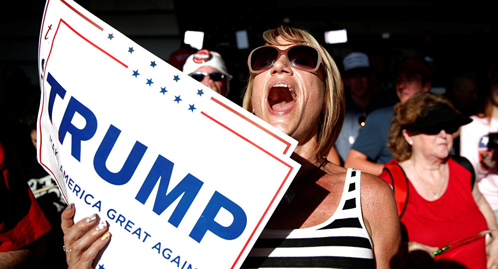 Donald Trump destekçisi.