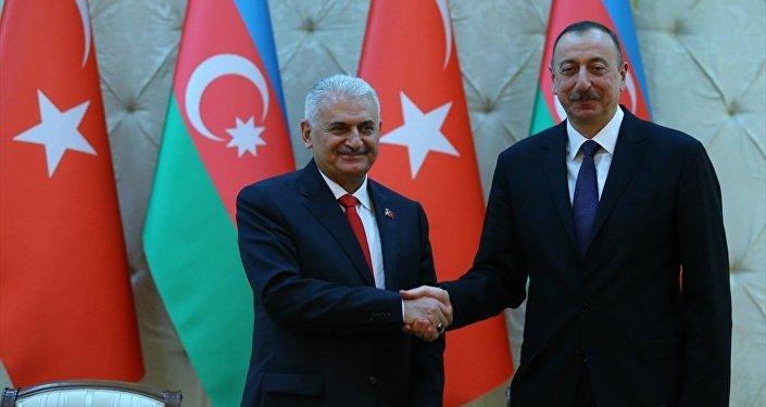 Binali Yıldırım -  İlham Aliyev