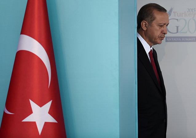 Türkiye Cumhurbaşkanı Recep Tayyip Erdoğan, G20 Liderler Zirvesi'nde.
