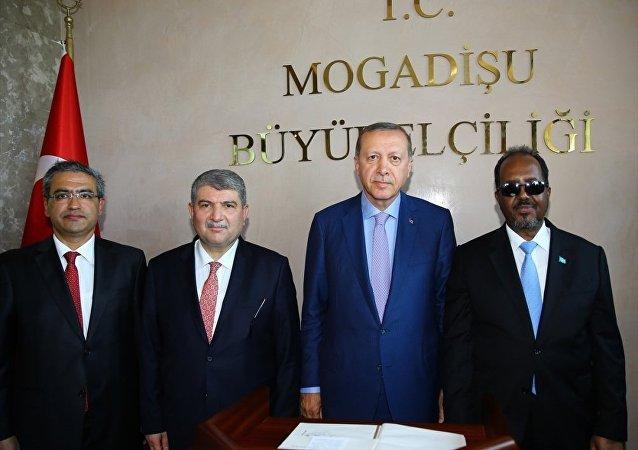 Cumhurbaşkanı Erdoğan - Türkiye'nin Mogadişu Büyükelçiliği