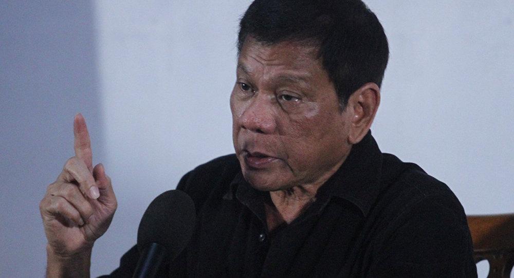 Filipinler Devlet Başkanı Rodrigo 'Digong' Duerte.