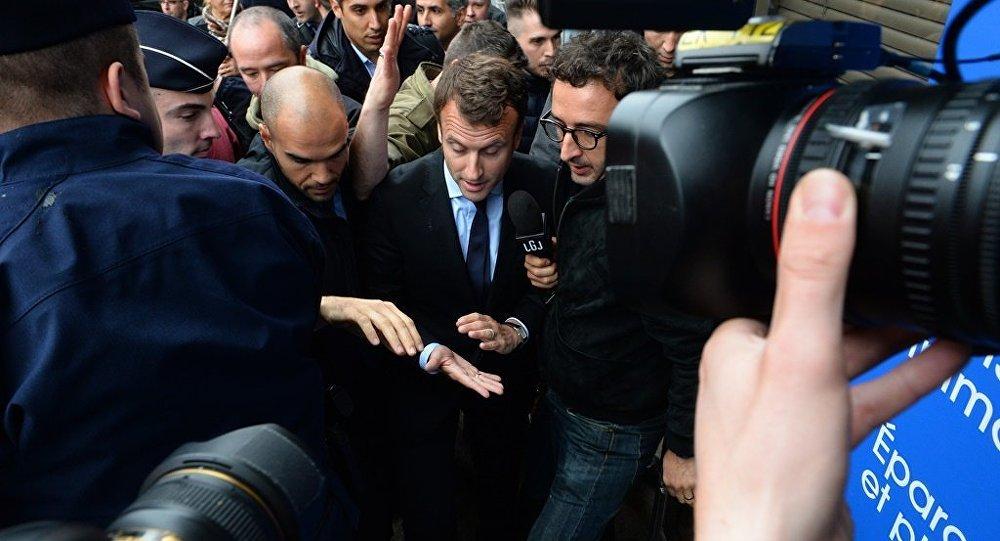 Fransa ekonomi bakanına yumurtalı saldırı Emmanuel Macron
