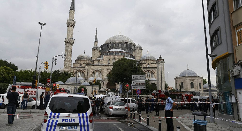 İstanbul Vezneciler'deki saldırıda 7 polis ve 4 sivil yaşamını kaybetti, 36 kişi yaralandı.