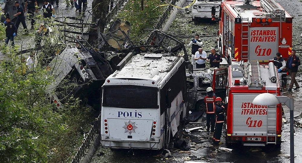 İstanbul - Vezneciler - Patlama