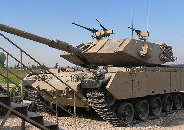 Magach tipi tank