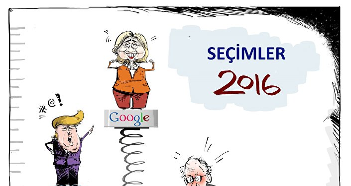 Google ve Clinton arasıdaki bir 'Al gülüm ver gülüm' meselesi
