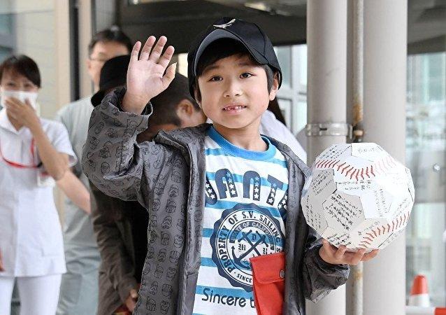 Japonya'da ormana bırakılan çocuk Yamato Tanooka