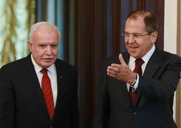 Sergey Lavrov - Riyad el Maliki