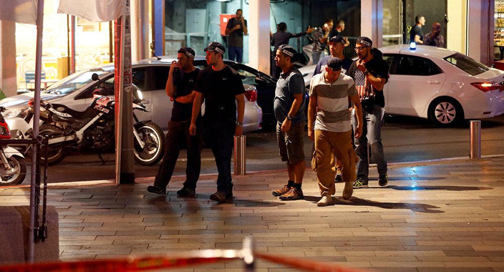Tel Aviv'de silahlı saldırı.