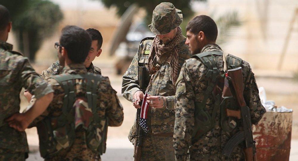 Demokratik Suriye Güçleri - ABD - Menbic
