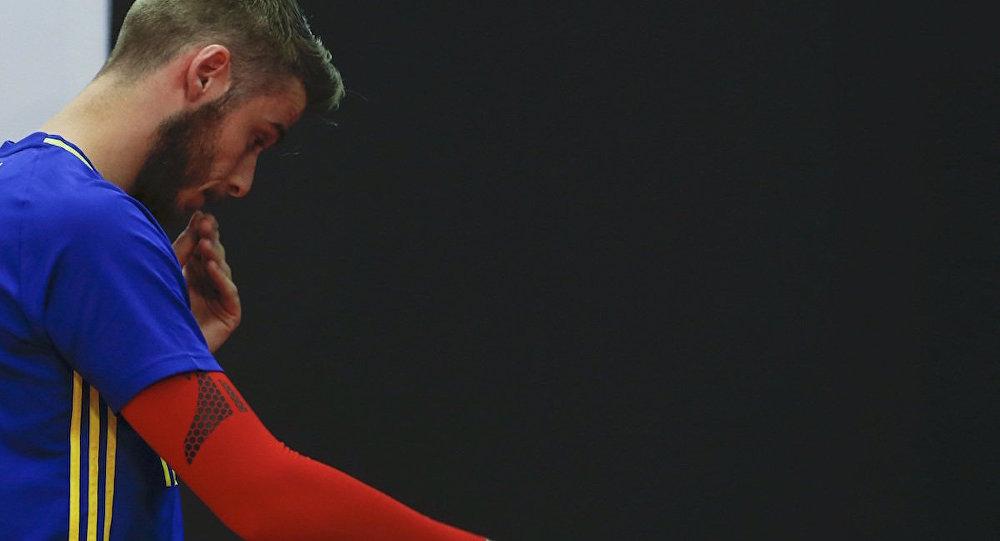 İspanya Milli Takımı'nın kalecisi David De Gea.