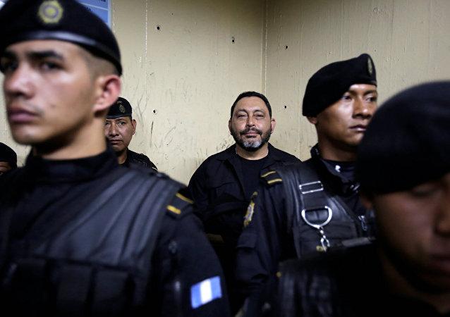 Guatemala'nın eski İçişleri Bakanı Mauricio Lopez Bonilla