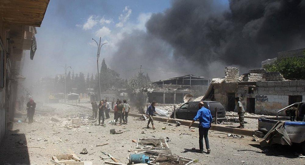 Şam bombalı saldırı