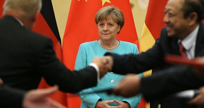 Angela Merkel - Çin