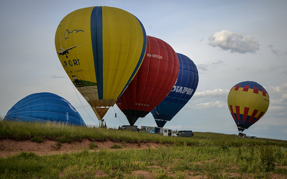21. Uluslararası Balon Festivali Rusya'da