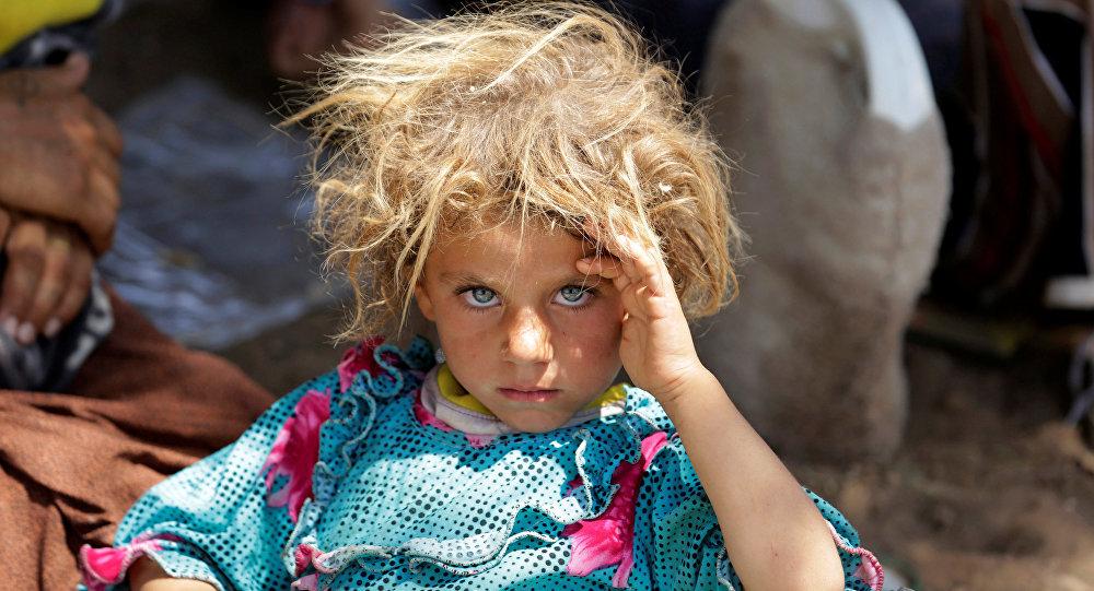 IŞİD'den kaçan Ezidiler