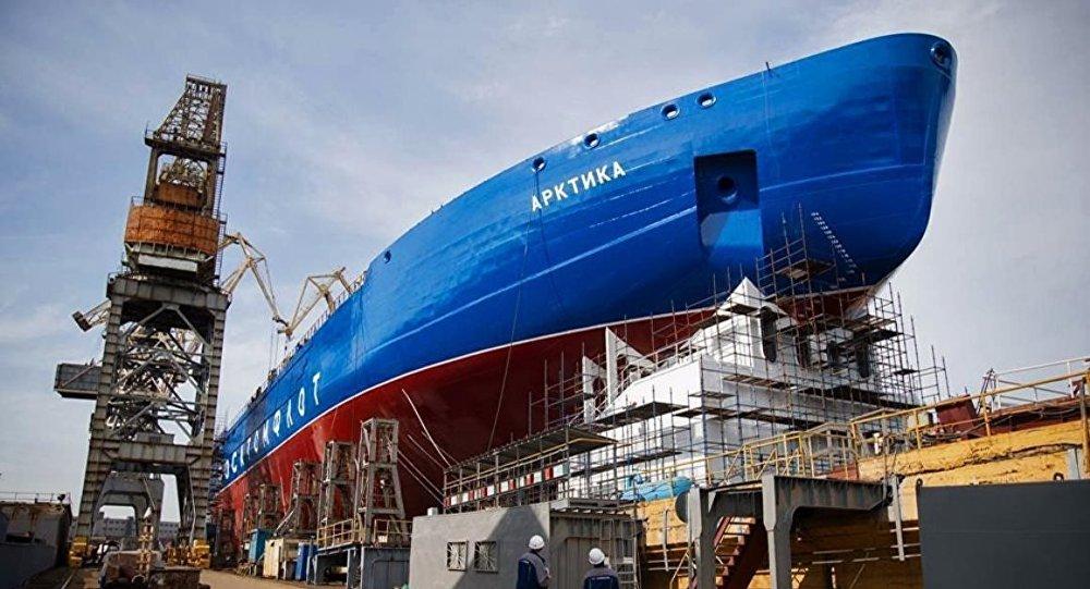 Buzkıran gemisi Arktika