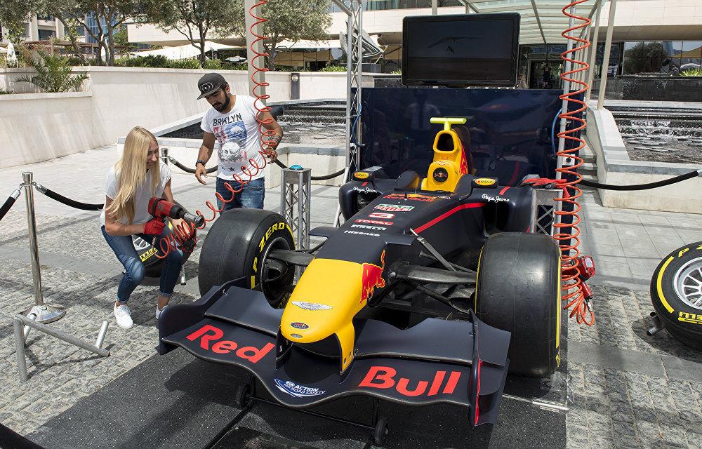 Bakü'de Formula 1 heyecanı