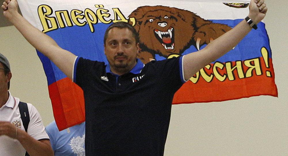 Rusya Futbol Taraftarları Birliği Başkanı Aleksandr Şprıgin
