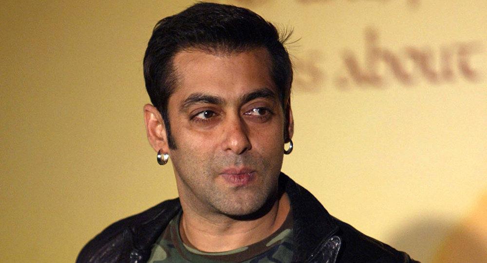 Hindistanlı ünlü aktör Salman Khan