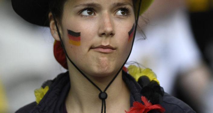 Alman taraftar.