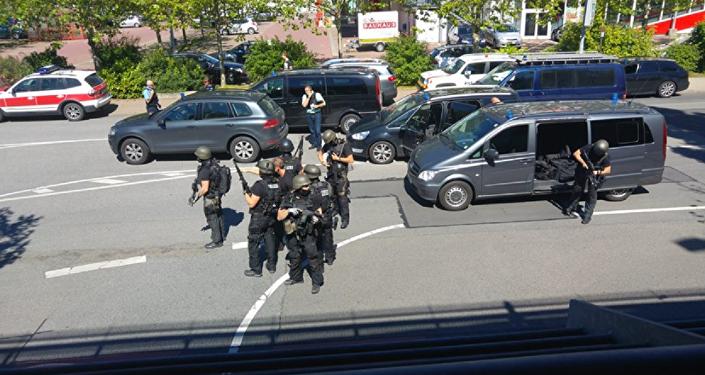 Almanya'da Frankfurt yakınındaki Viernheim kasabasında silahlı saldırı