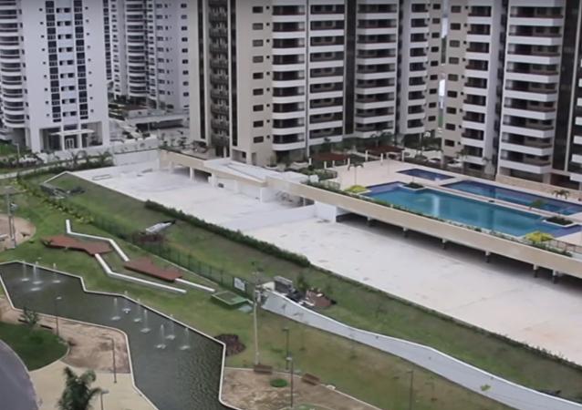Rio Olimpiyat Köyü RT kamerasında
