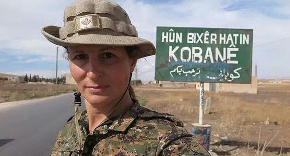 IŞİD'e karşı savaşan Kanadalı eski model Hanna Bohman