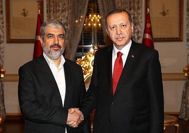 Recep Tayyip Erdoğan -  Halid Meşal