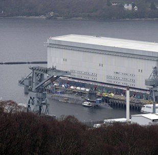 Faslane denizaltı üssü, İskoçya