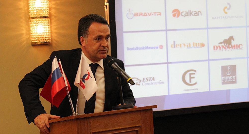 Rus Türk İş Adamları Birliği (RTİB) Başkanı Naki Karaaslan