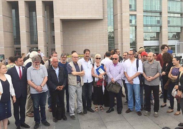 Nadire Mater, Yıldırım Türker, Tuğrul Eryılmaz ve Faruk Balıkçı