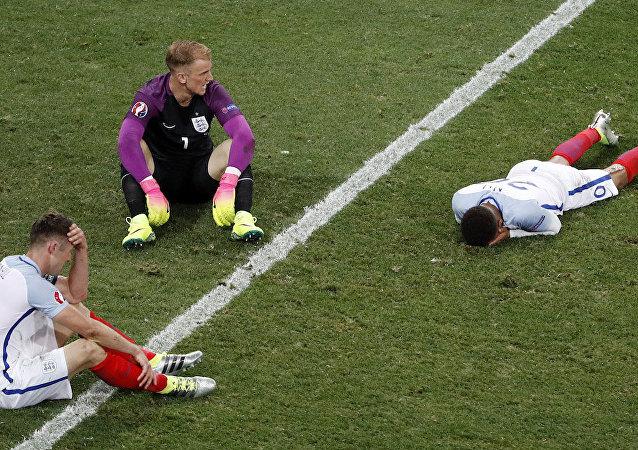 İngiltere, EURO 2016'ya veda etti.