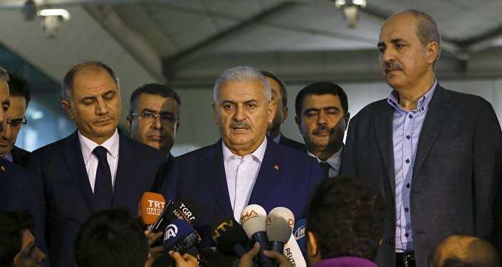 Başbakan Binali Yıldırım, Atatürk Havalimanı'nda saldırıyla ilgili açıklamalarda bulundu.