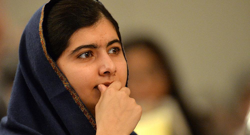 Nobel Barış Ödüllü Pakistanlı aktivist Malala Yusufzay